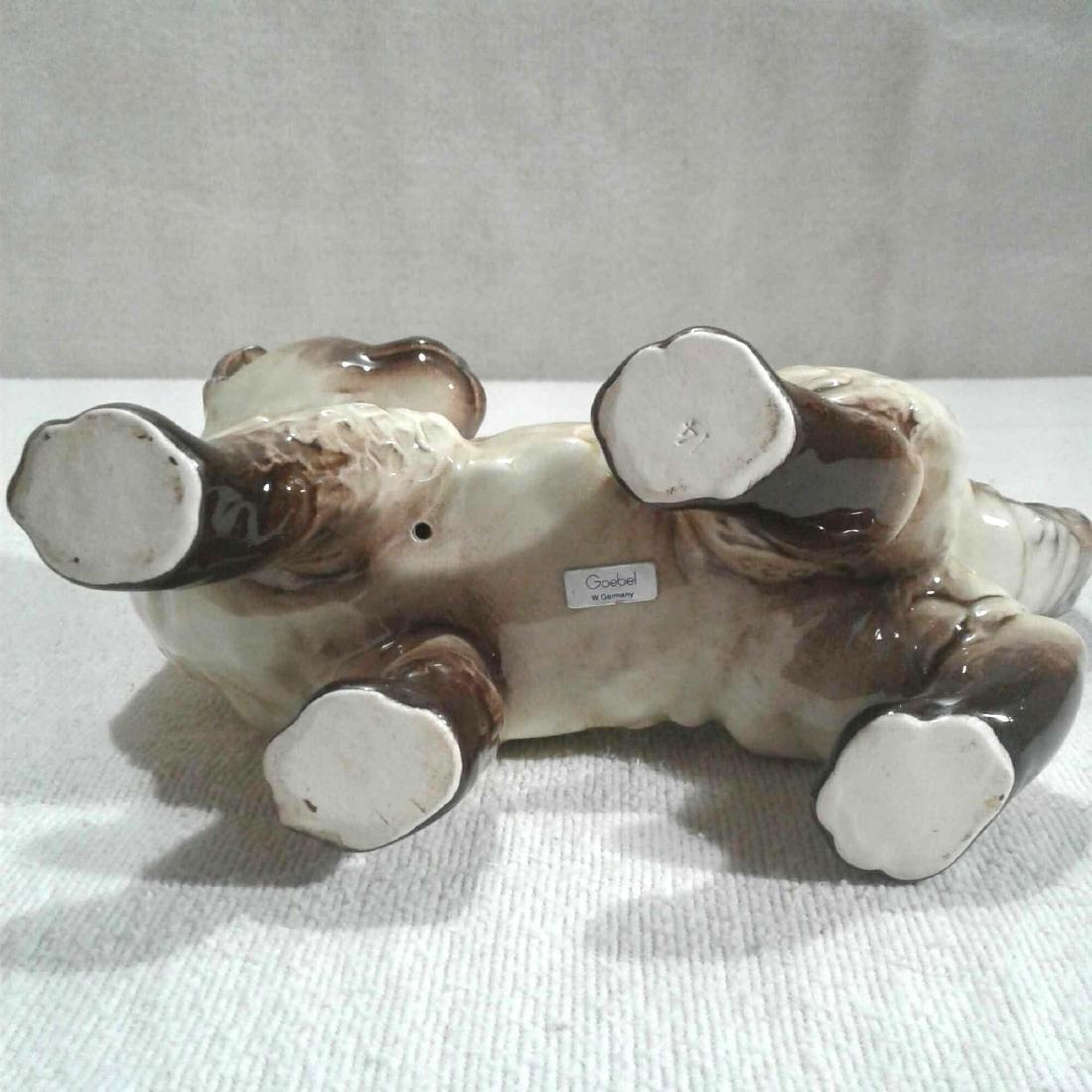 Vintage Goebel Ceramic Cat Figurine - 8