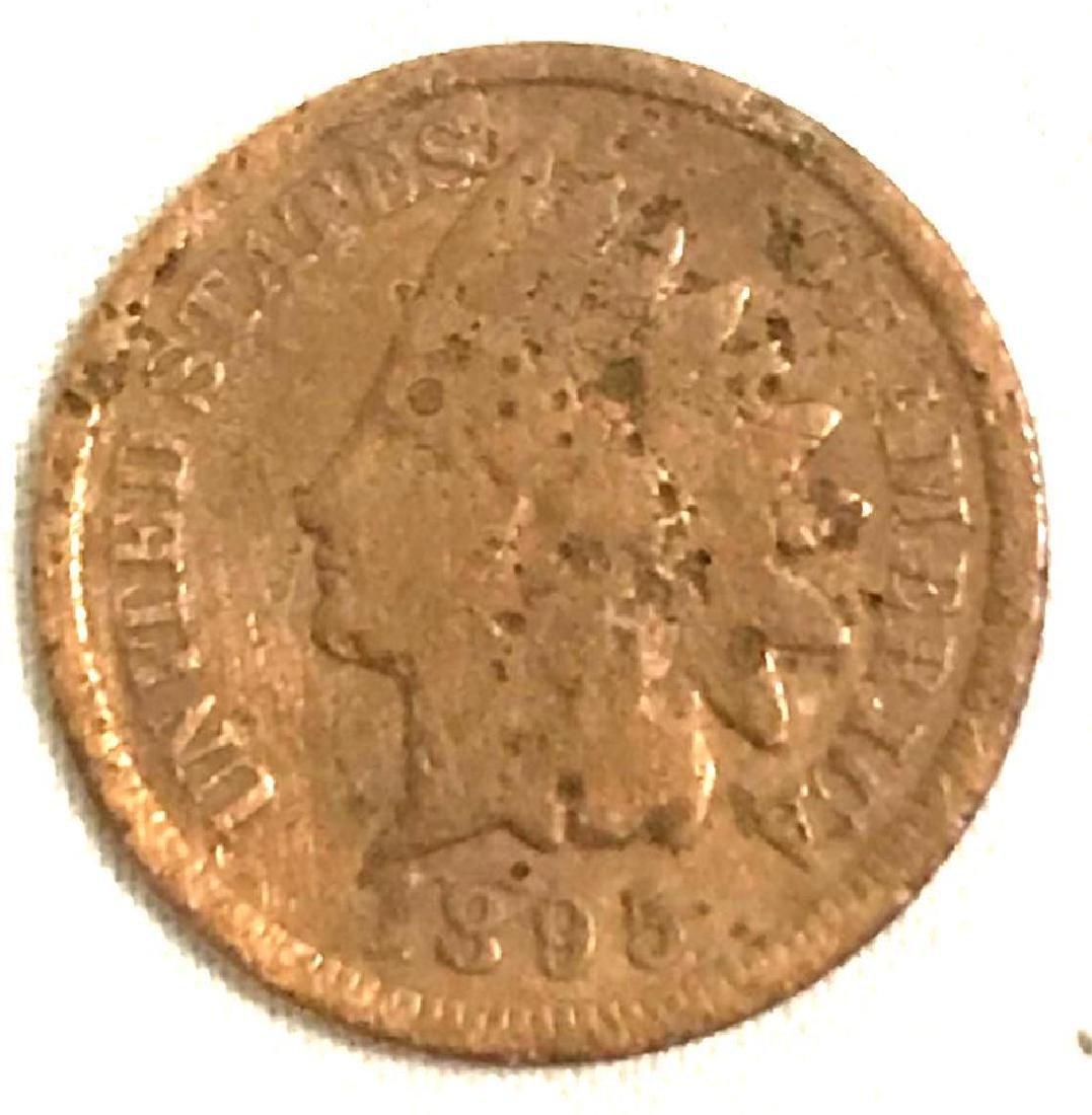 8 Indian Head Pennies 1890's - 10