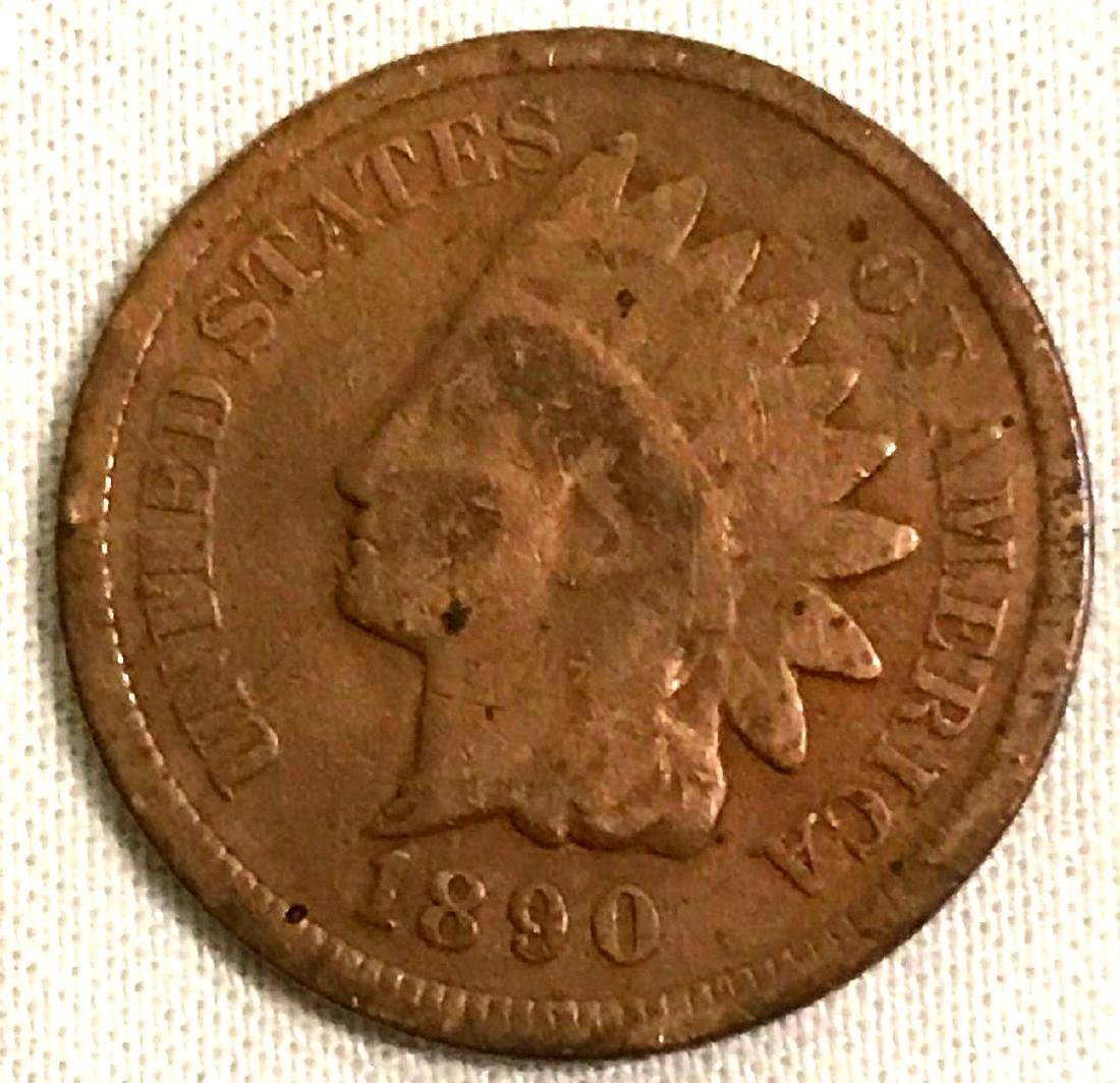 8 Indian Head Pennies 1890's - 4