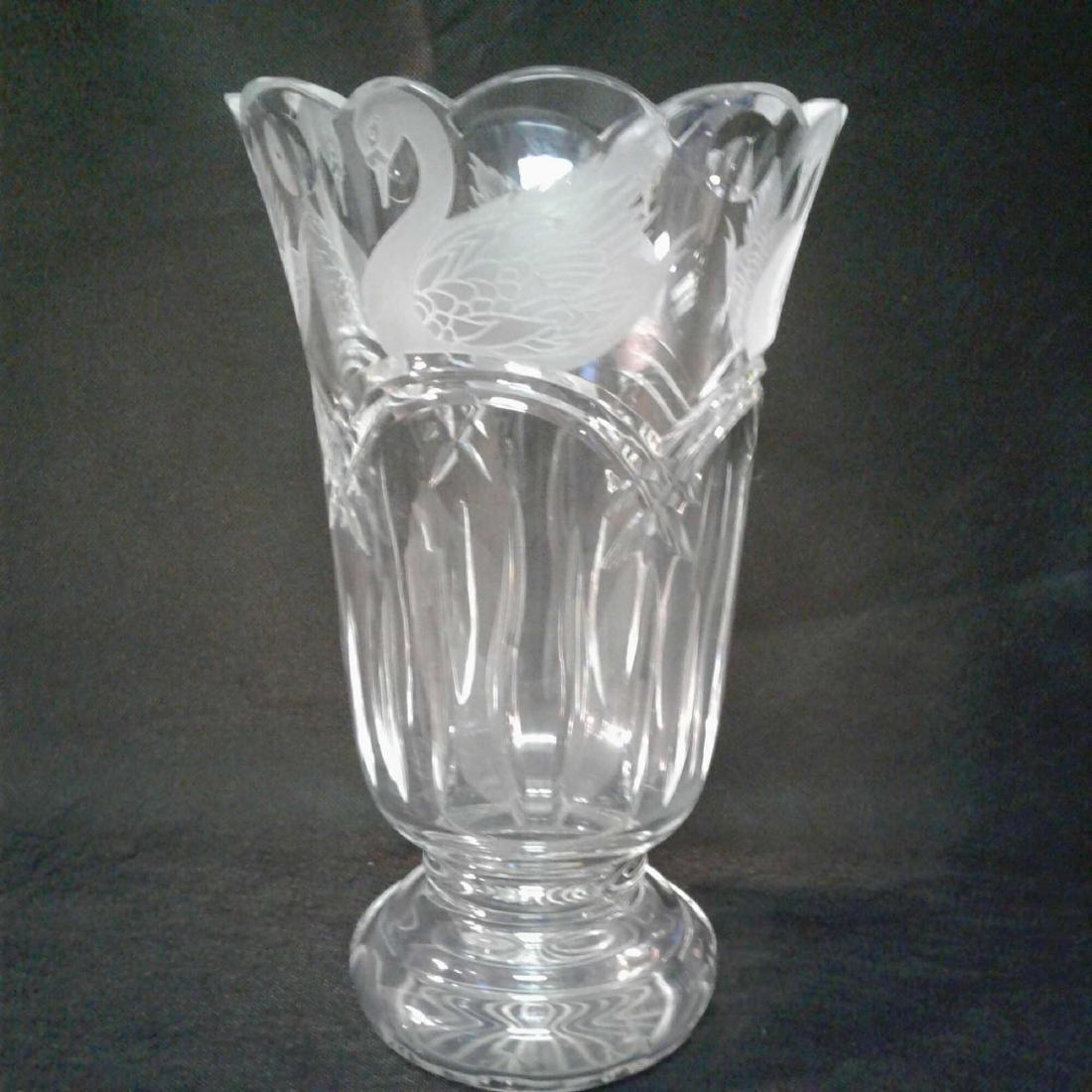 Waterford Crystal Swan Lake Vas - 2