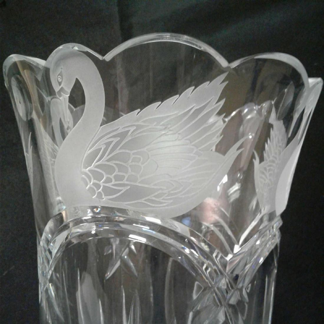Waterford Crystal Swan Lake Vas - 5