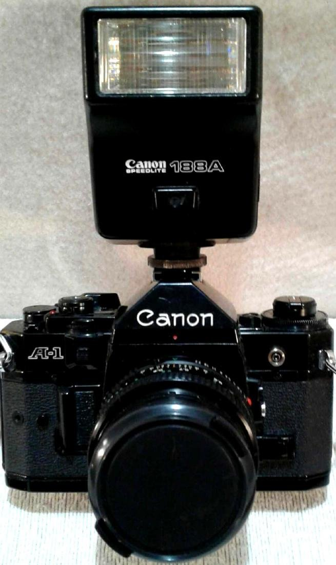 Canon A-1 35MM SLR Camera