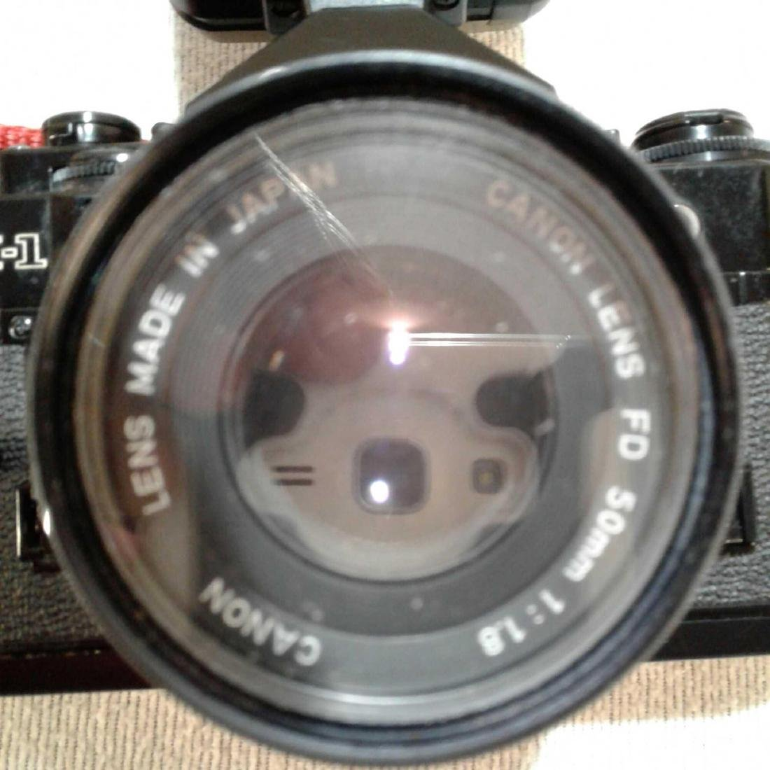 Canon A-1 35MM SLR Camera - 4