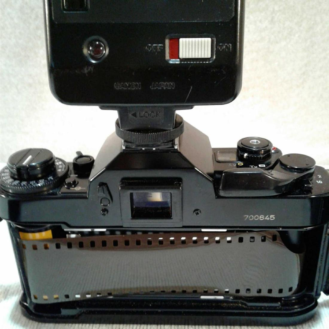 Canon A-1 35MM SLR Camera - 7