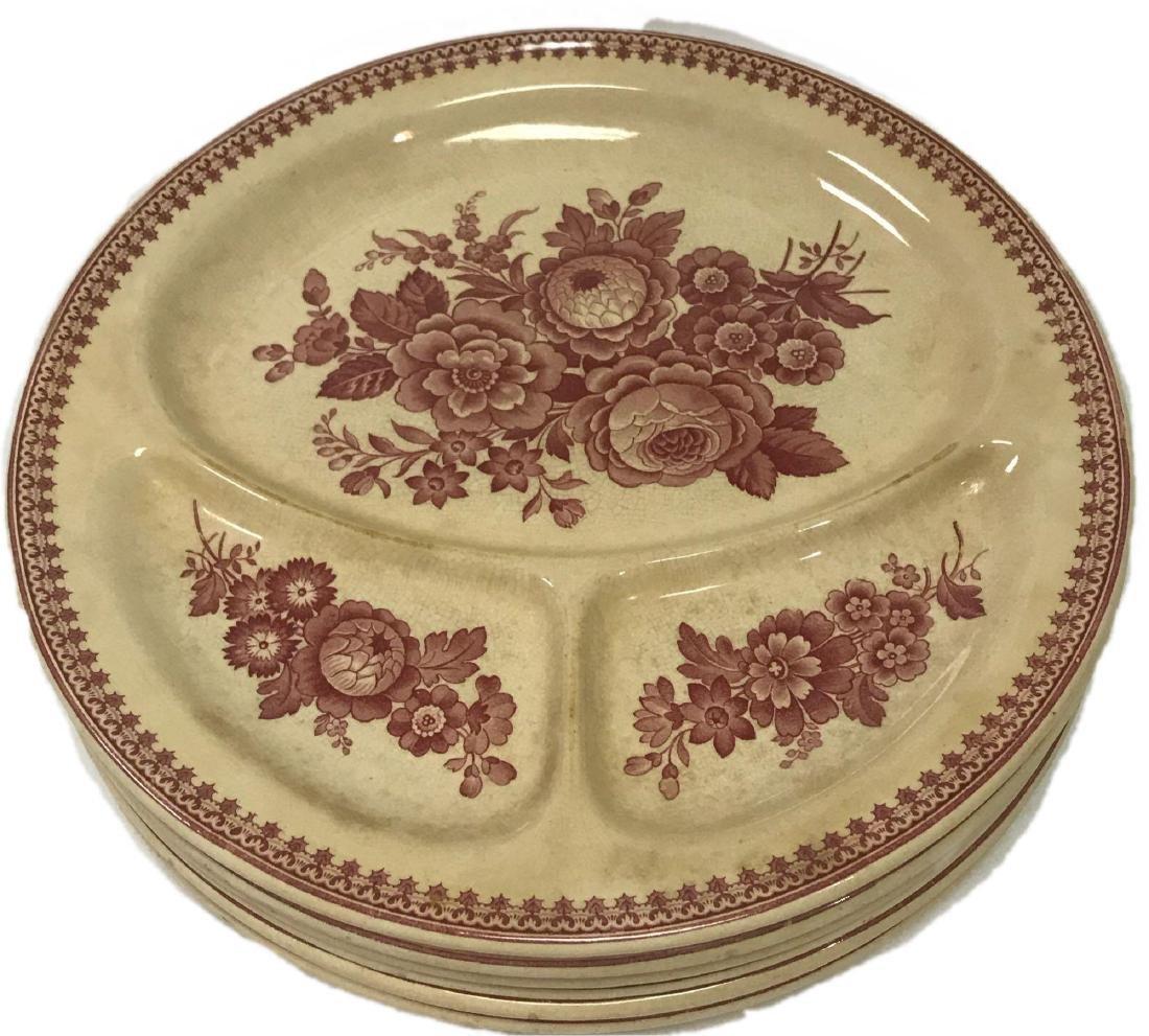 6 Vintage Metlach Villeroy & Boch Grill Plate