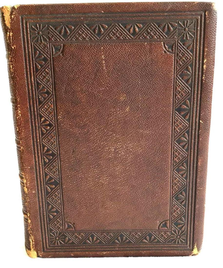 Lucile by Owen Meredith 1884 Leather Bound Book