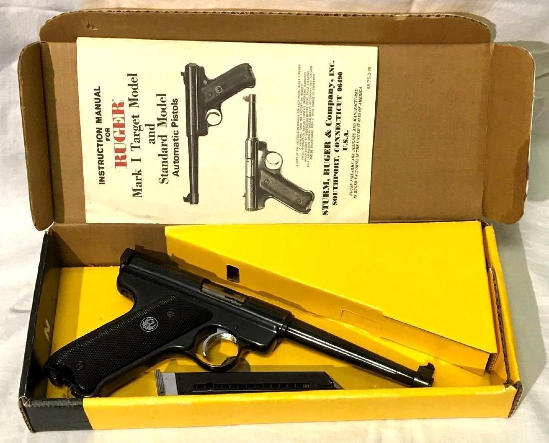 1977 Ruger Mark I .22 Caliber Handgun