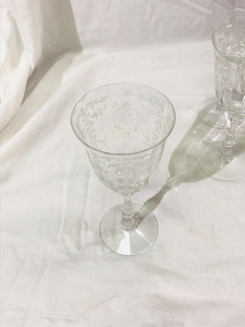 5 Fostoria Navarre Glasses - 10