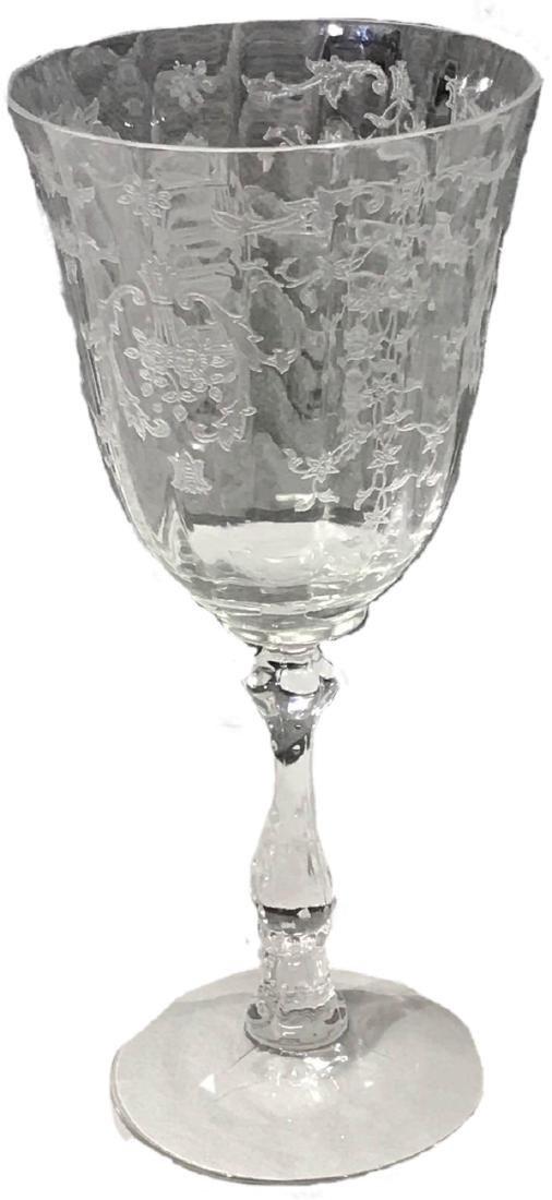 5 Fostoria Navarre Glasses