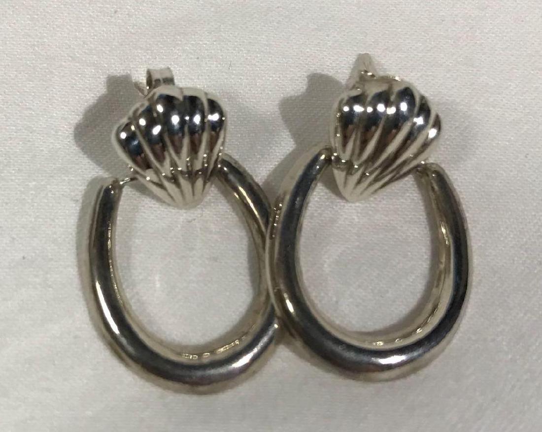 5 Pair Vintage Sterling Earrings - 6