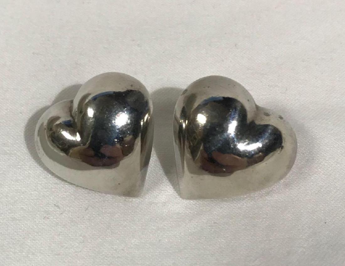 5 Pair Vintage Sterling Earrings - 7