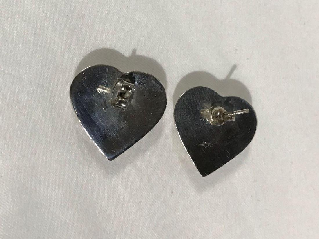 5 Pair Vintage Sterling Earrings - 8