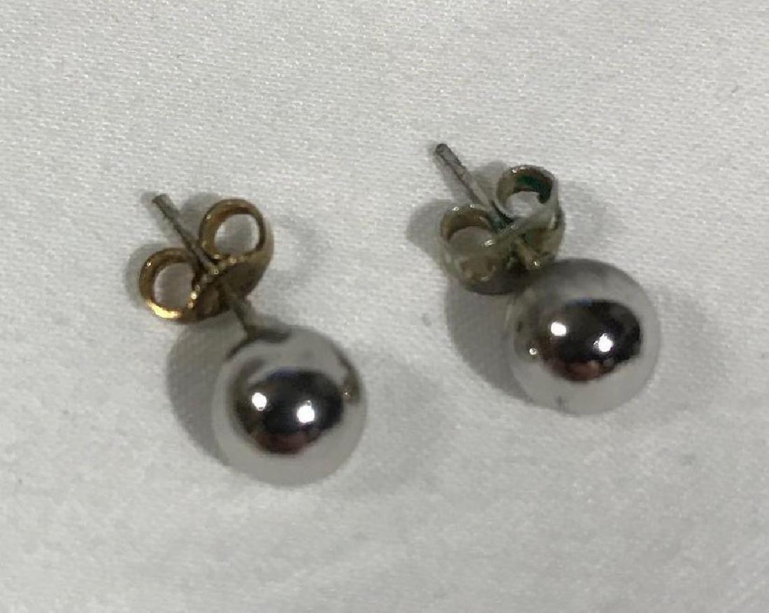 5 Pair Vintage Sterling Earrings - 9