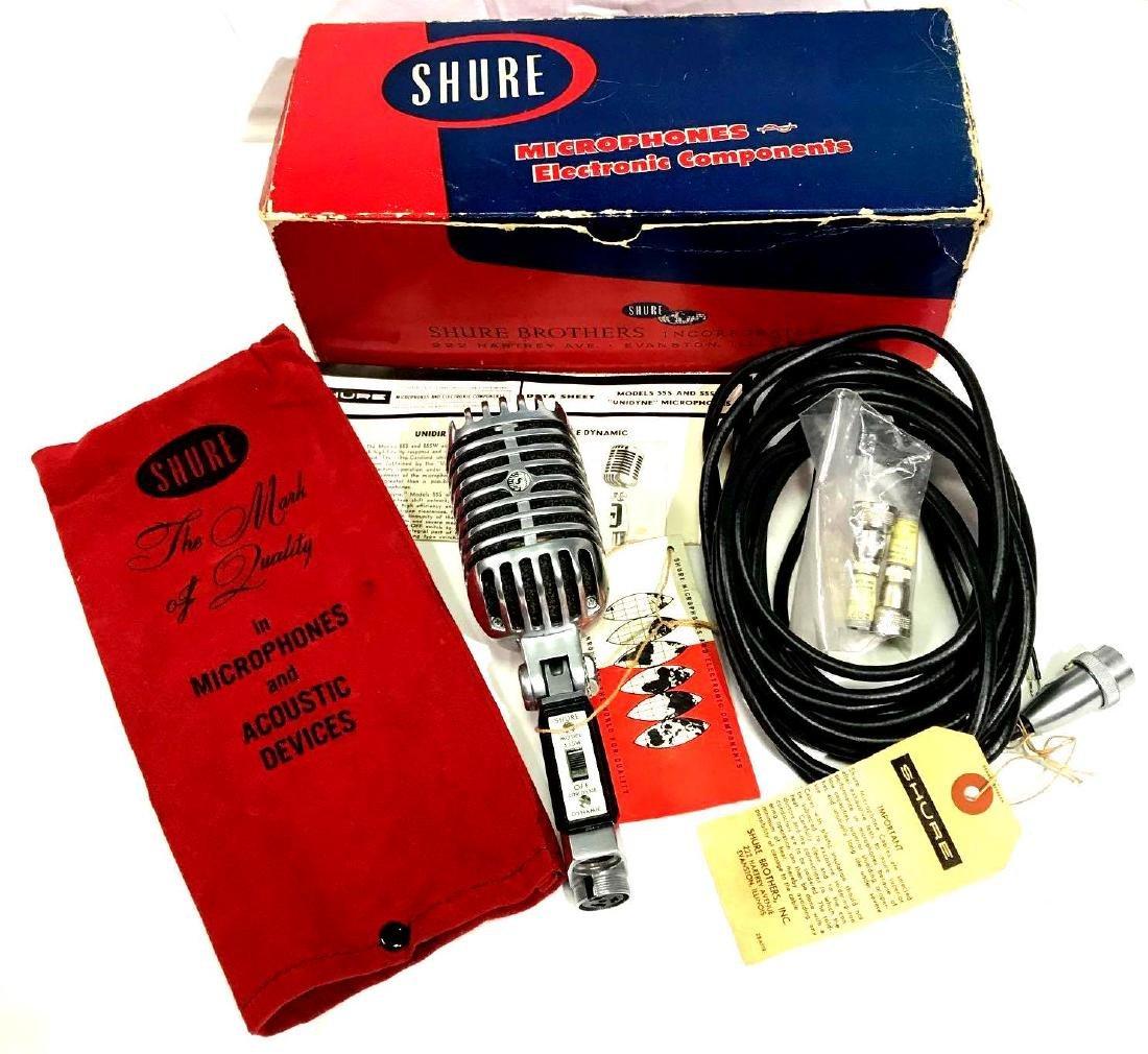 Vintage 55SW Shure Microphone
