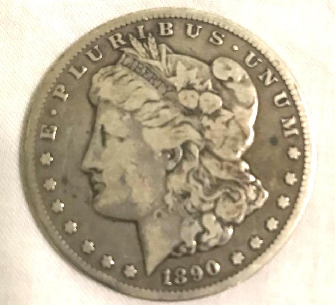 1890-CC Carson City Mint Morgan Dollar