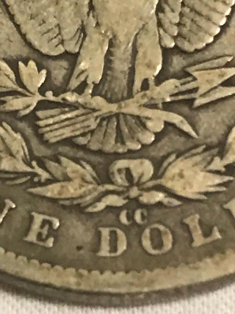 1890-CC Carson City Mint Morgan Dollar - 8