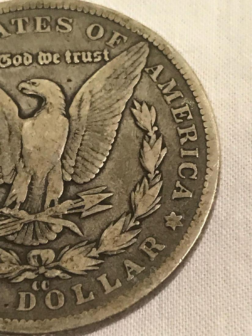 1890-CC Carson City Mint Morgan Dollar - 9