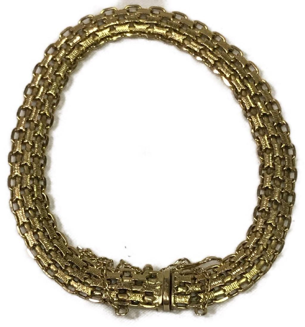 Vintage 14k Gold Bracelet