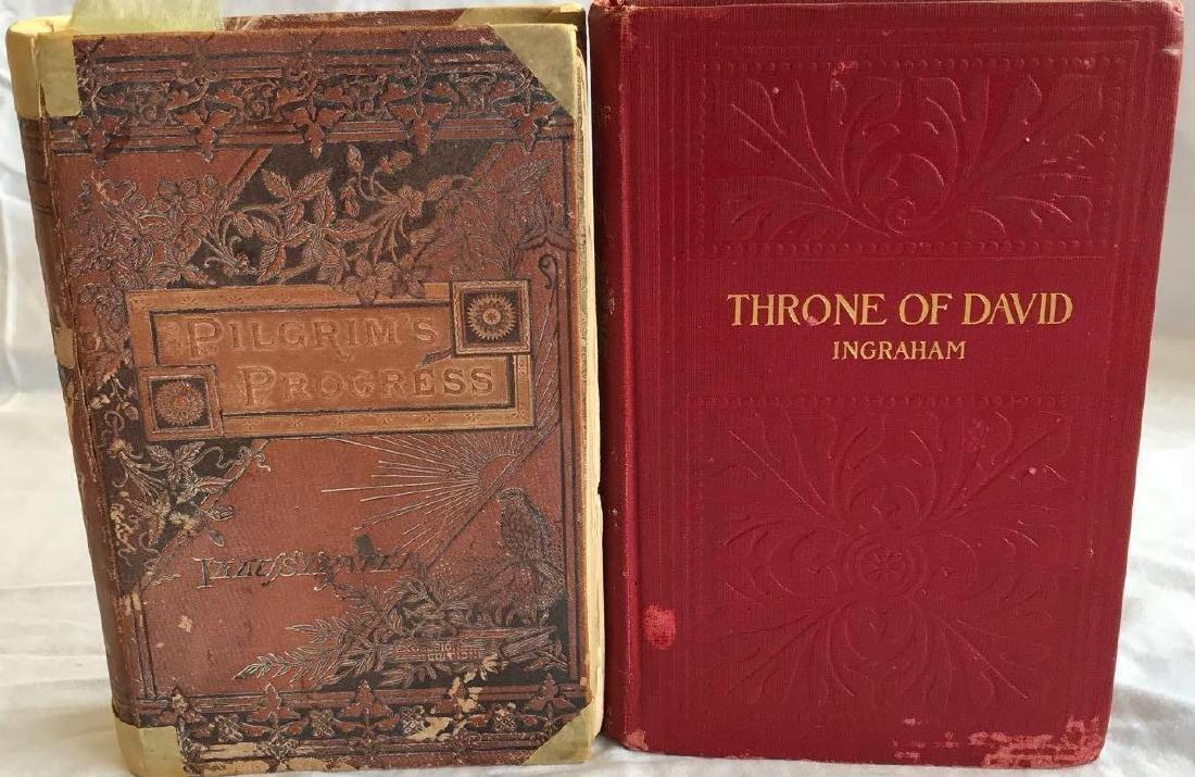 2 Antique Hardcover Books