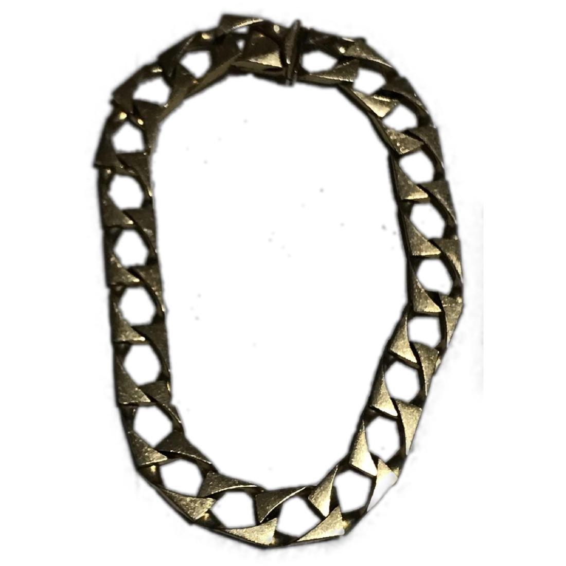 Vintage 14k Gold Men's Bracelet