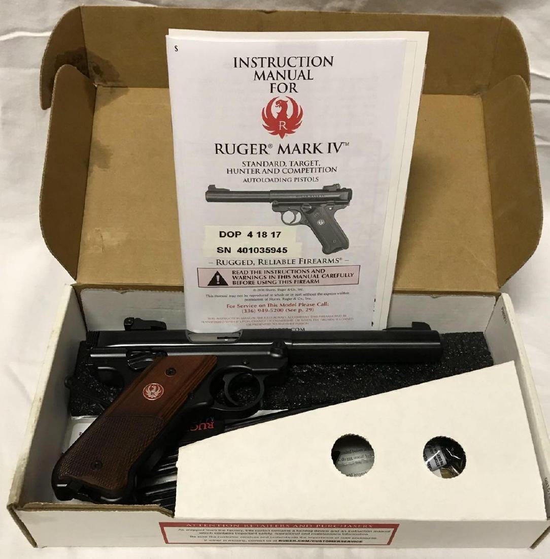 Ruger Mark IV .22 Target Pistol