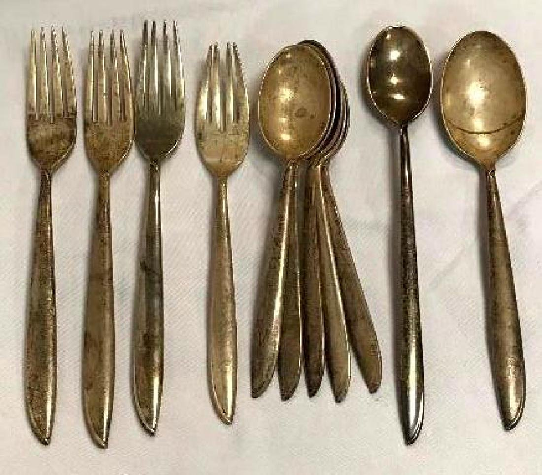 11 Pieces of Vintage Sterling Silver Flatware