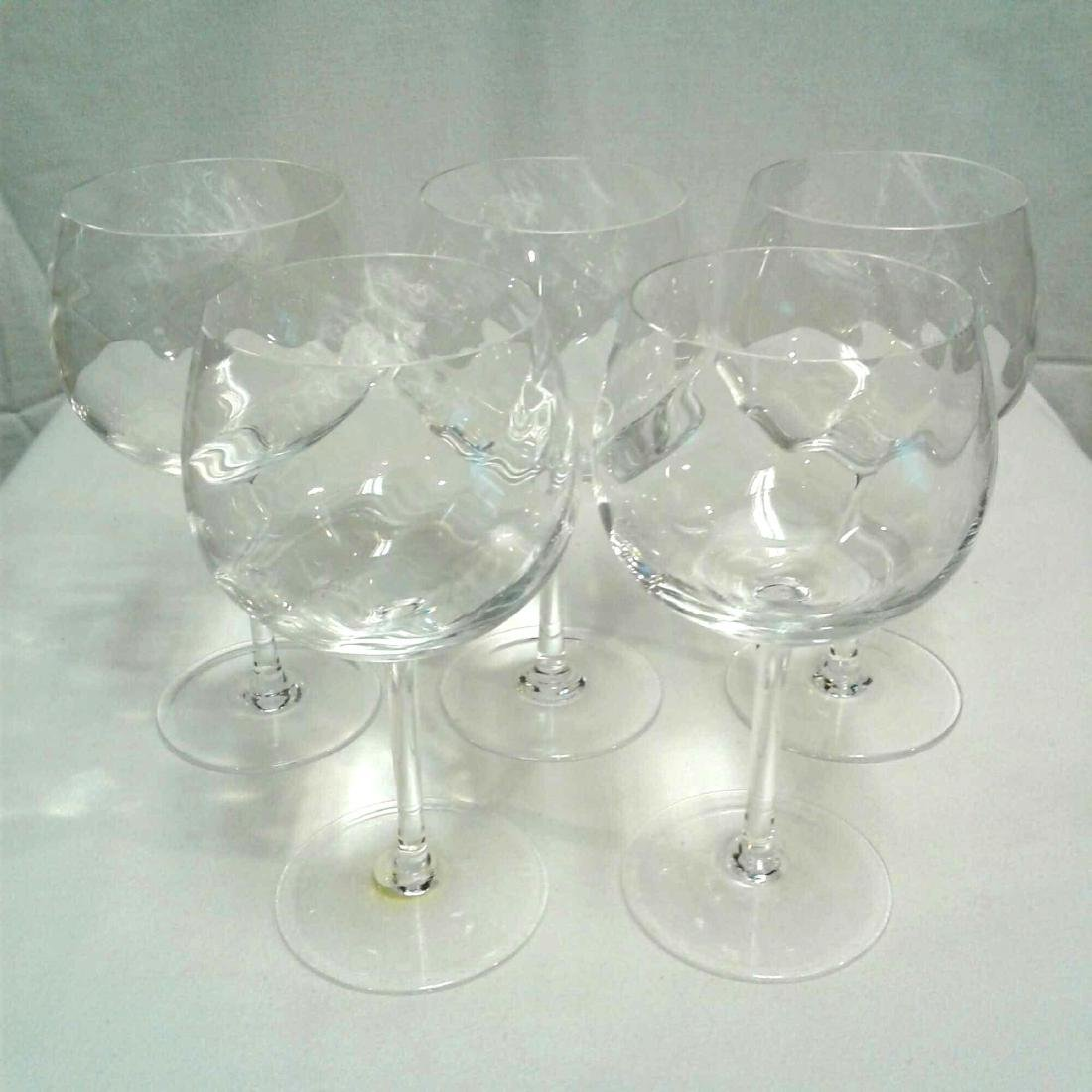 5 Crystal TIffany & Co. Wine Glass