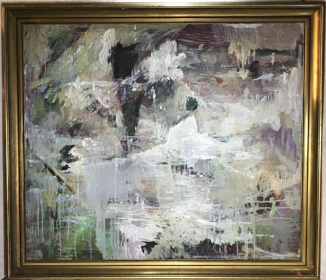 Raymond Matteuzzi Abstract Original Painting