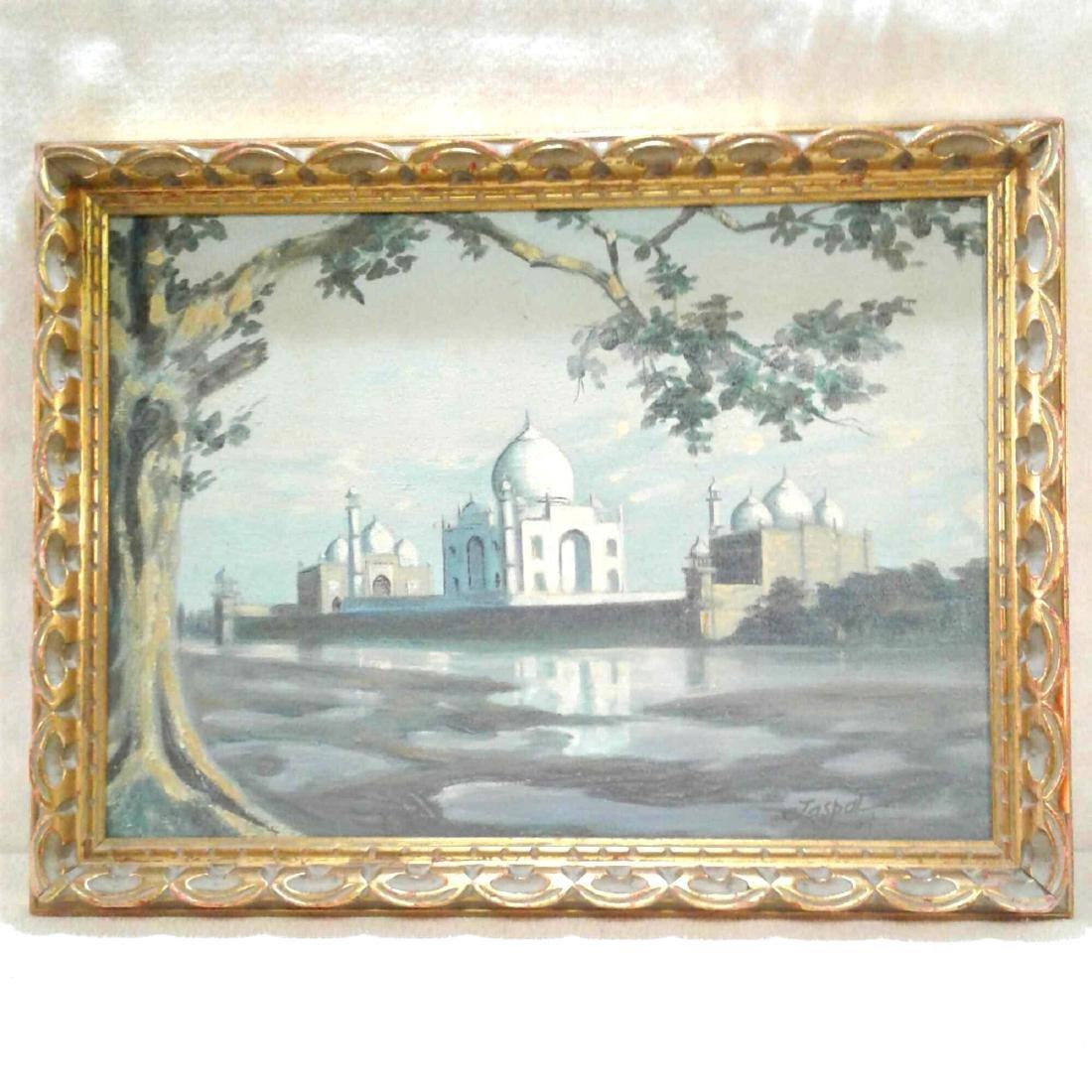 Vintage Jaspal Singh Indian Art Painting