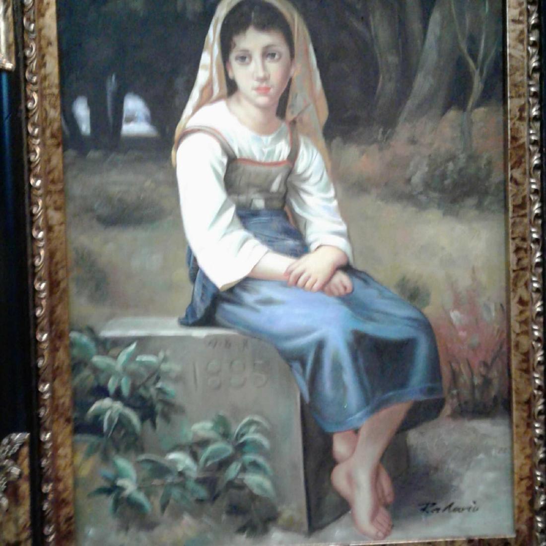 Framed Original Oil Painting - 2