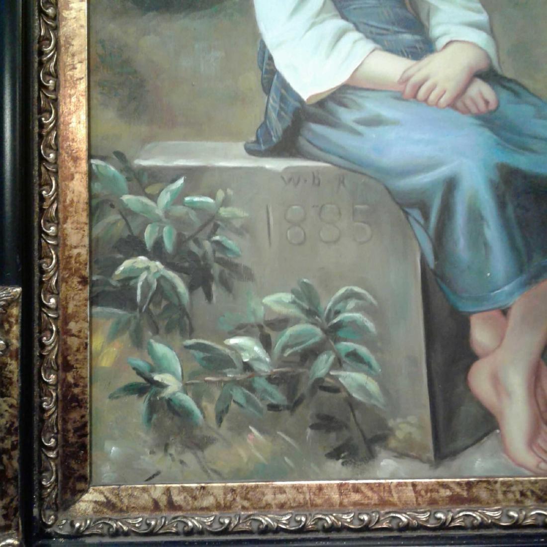 Framed Original Oil Painting - 4