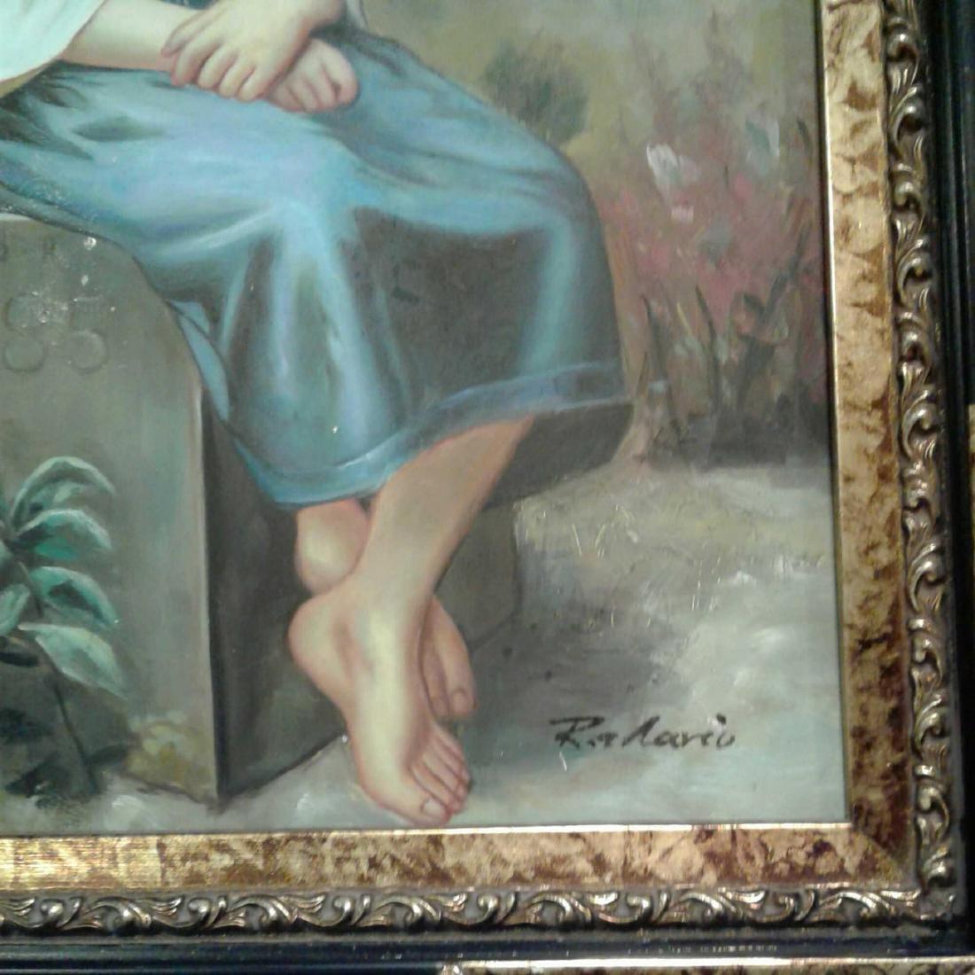 Framed Original Oil Painting - 5