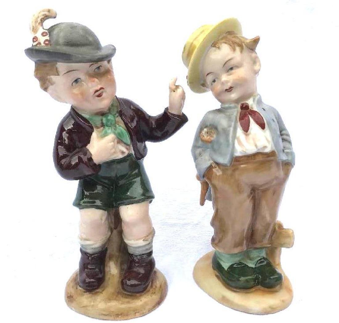 2 Bavarian porcelain figurines