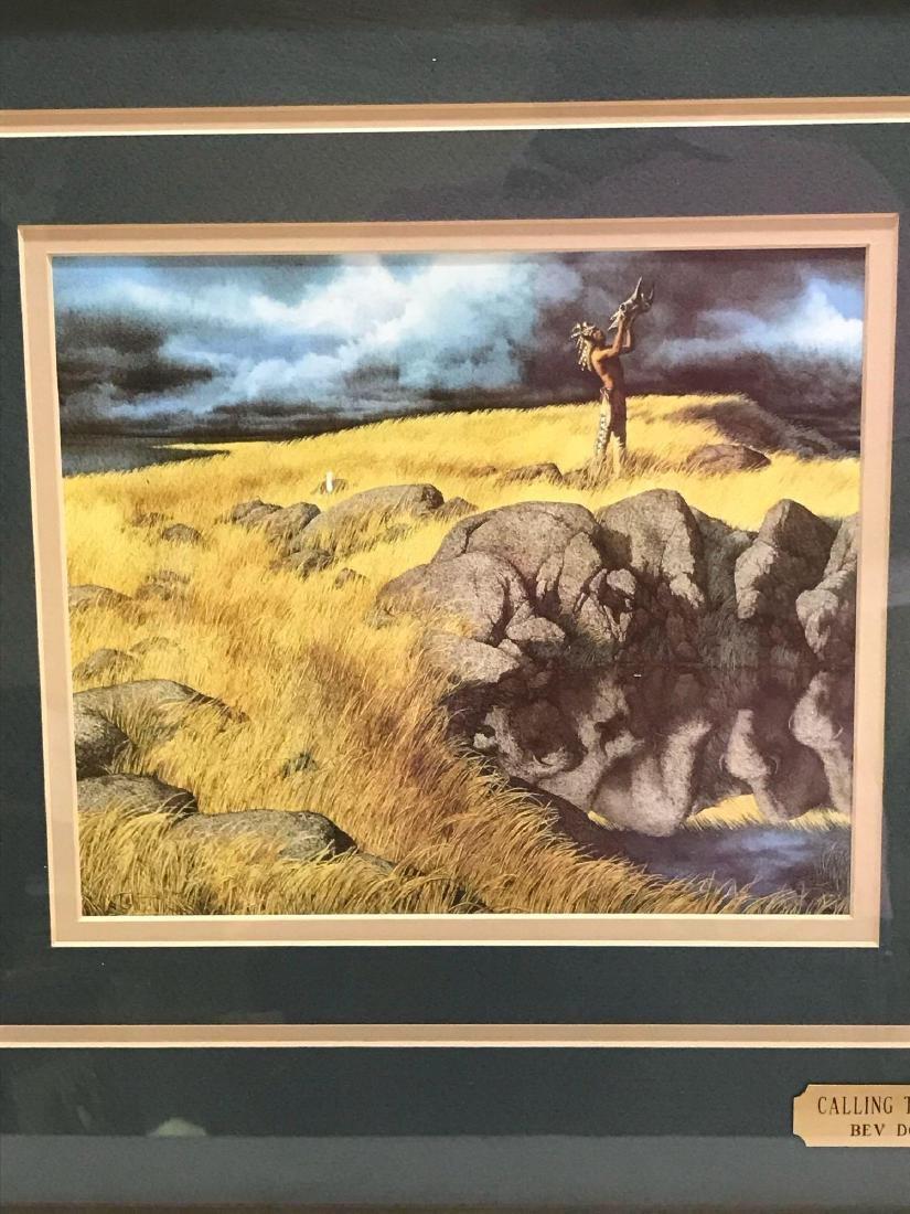 """Calling the Buffalo"" by Bev Doolittle - 3"