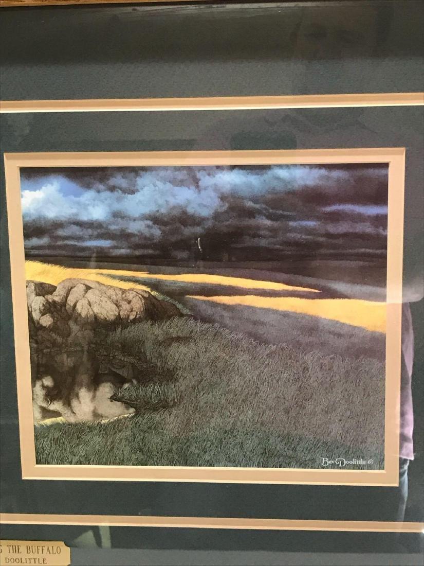 """Calling the Buffalo"" by Bev Doolittle - 4"