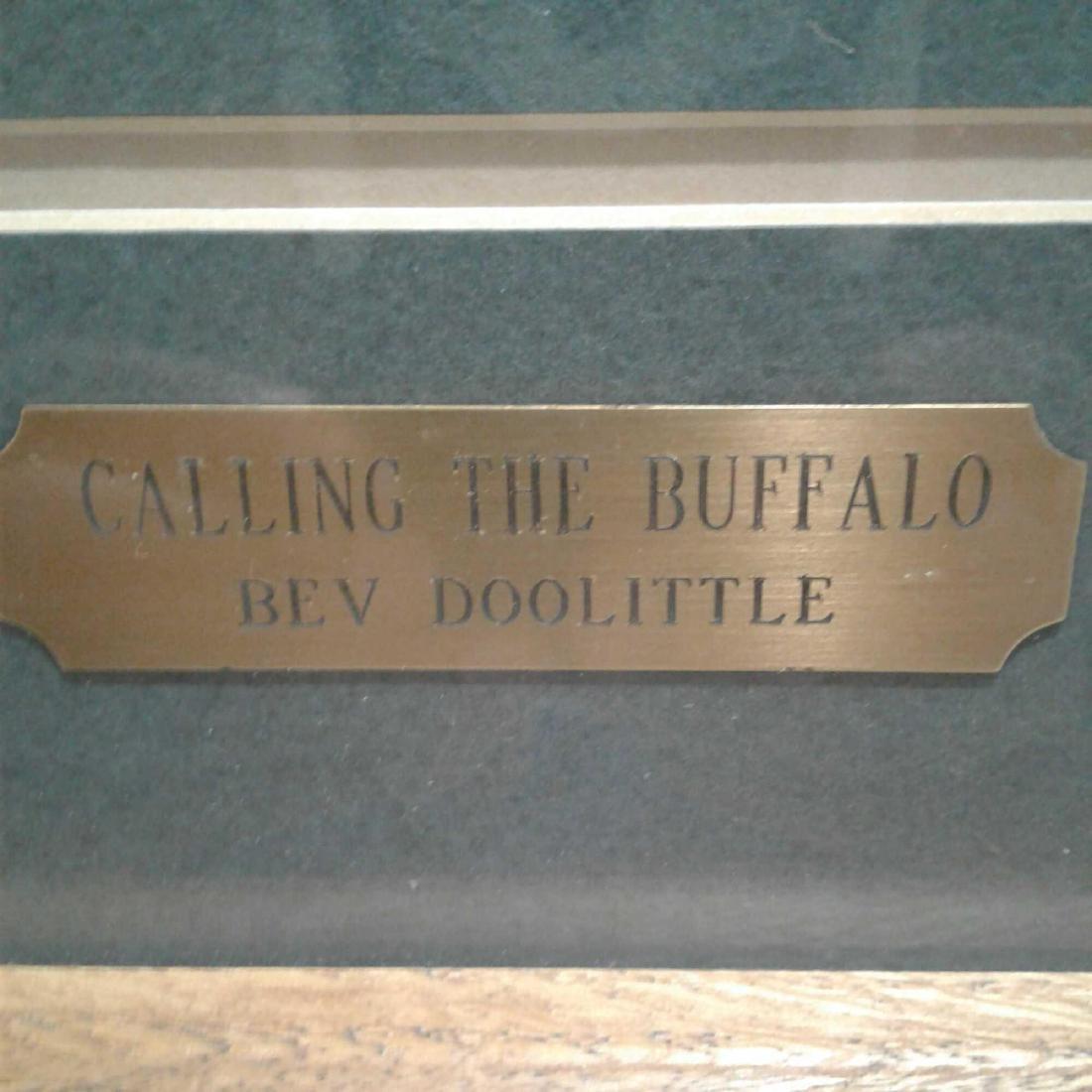 """Calling the Buffalo"" by Bev Doolittle - 5"