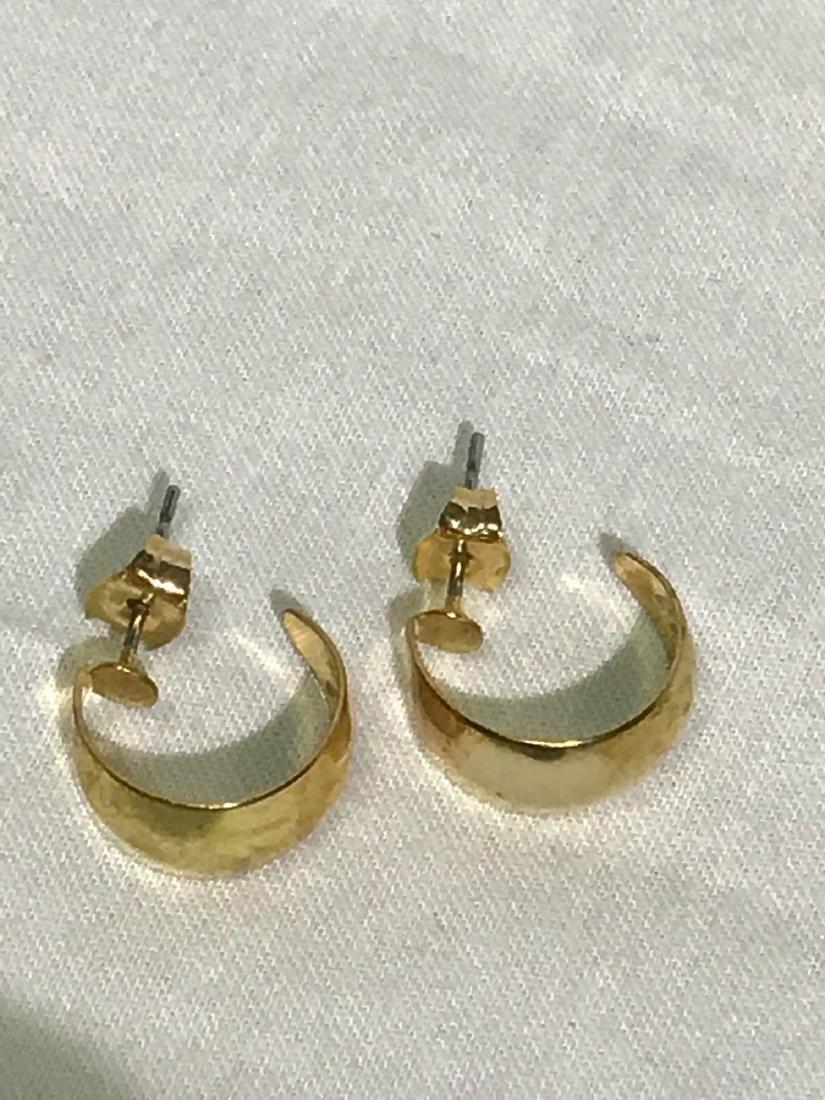Gold Earrings - 2