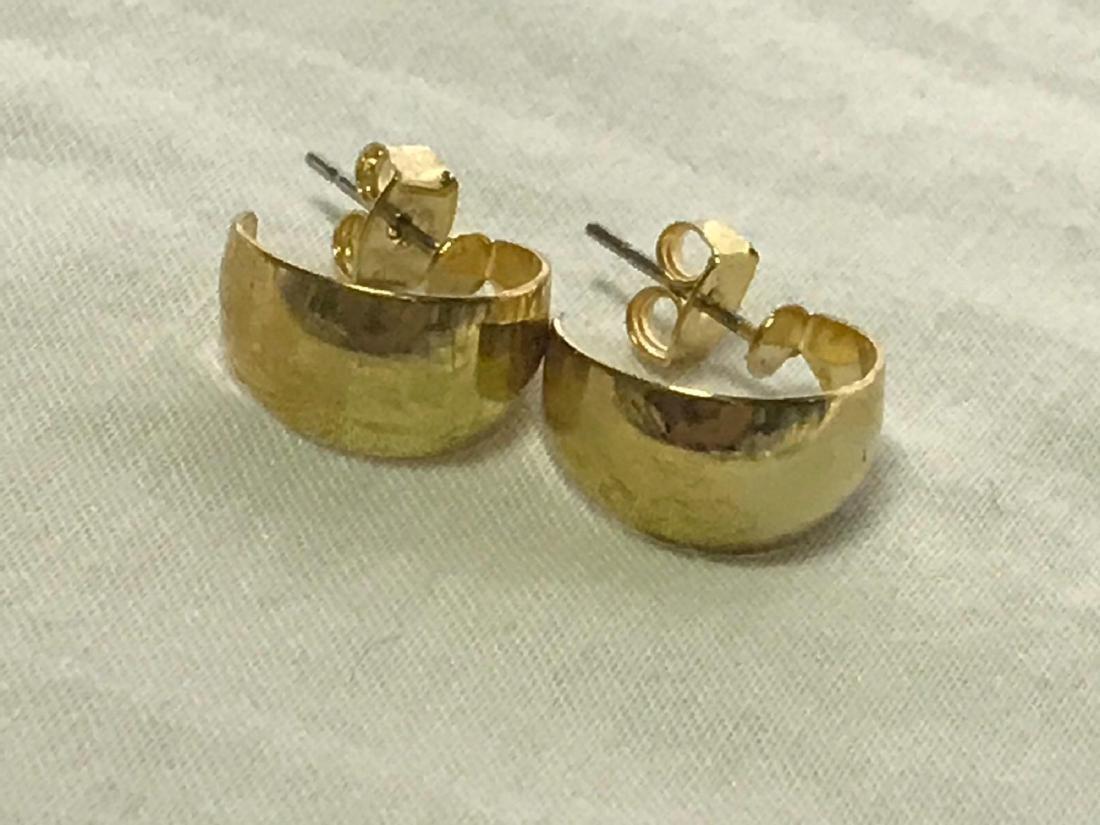 Gold Earrings - 4