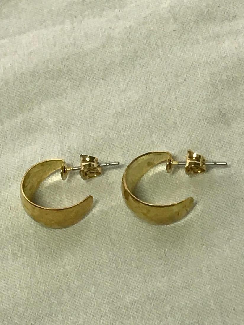 Gold Earrings - 6