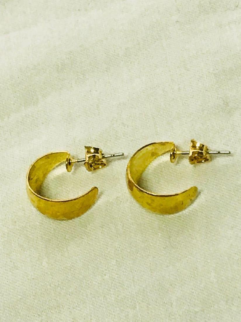 Gold Earrings - 7