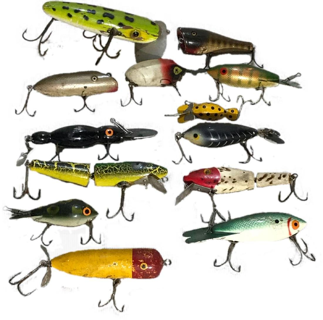 13 Antique Fishing Lures