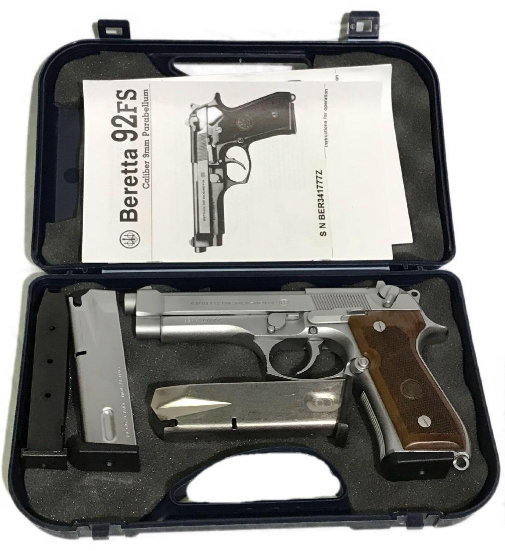 Beretta Stainless 92FS 9mm Handgun