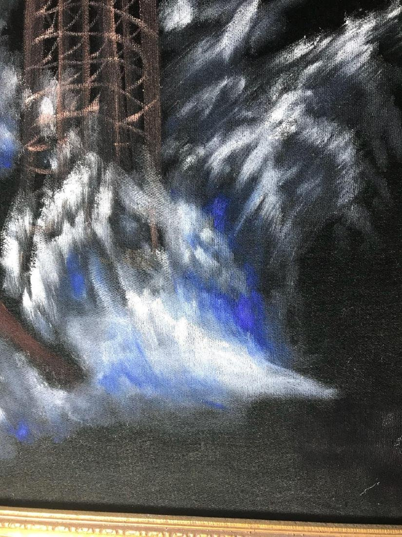 Original 1940's Leeteg of Haiti Velvet Painting - 7