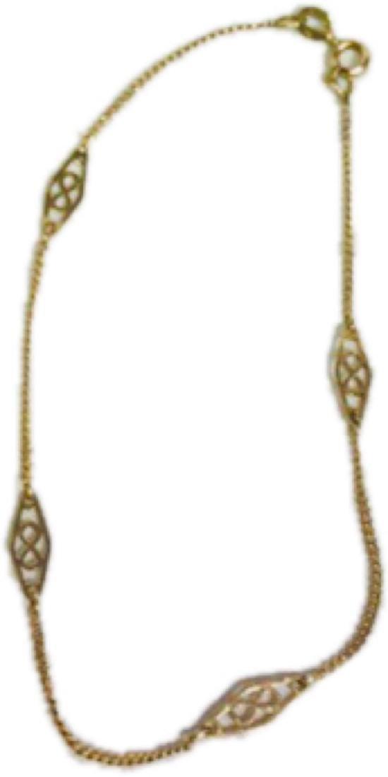 Vintage 14k Gold Infinity Bracelet