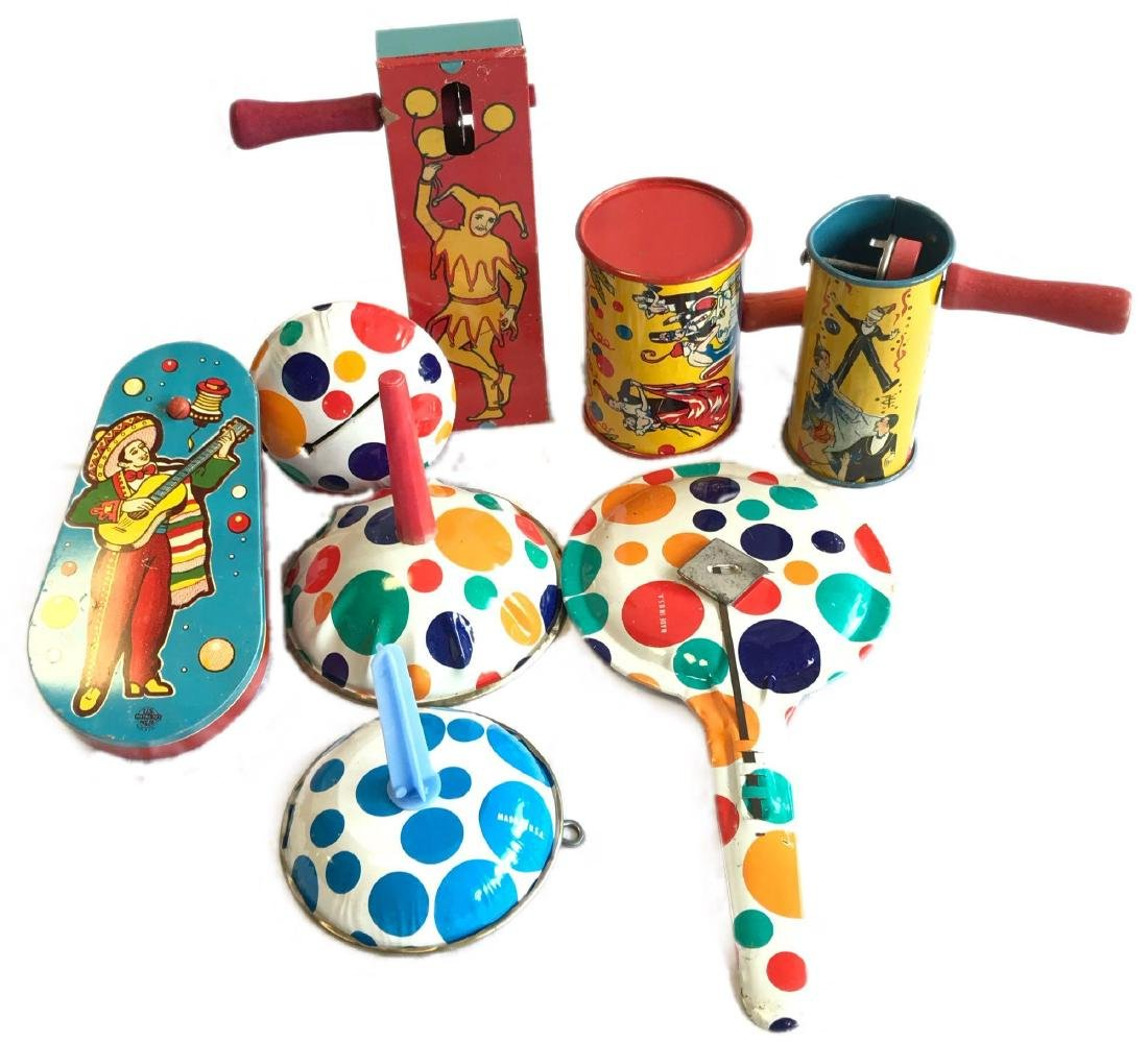 Vintage Toy Noisemakers