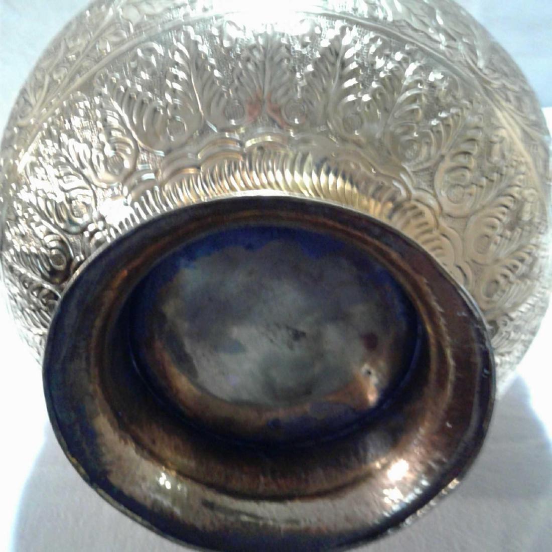 Vintage Large Brass Urn - 10