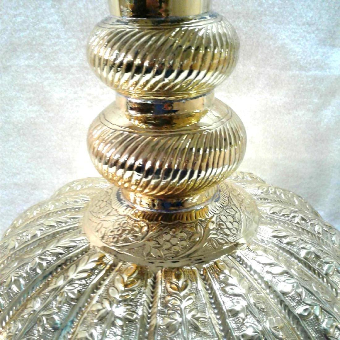 Vintage Large Brass Urn - 3