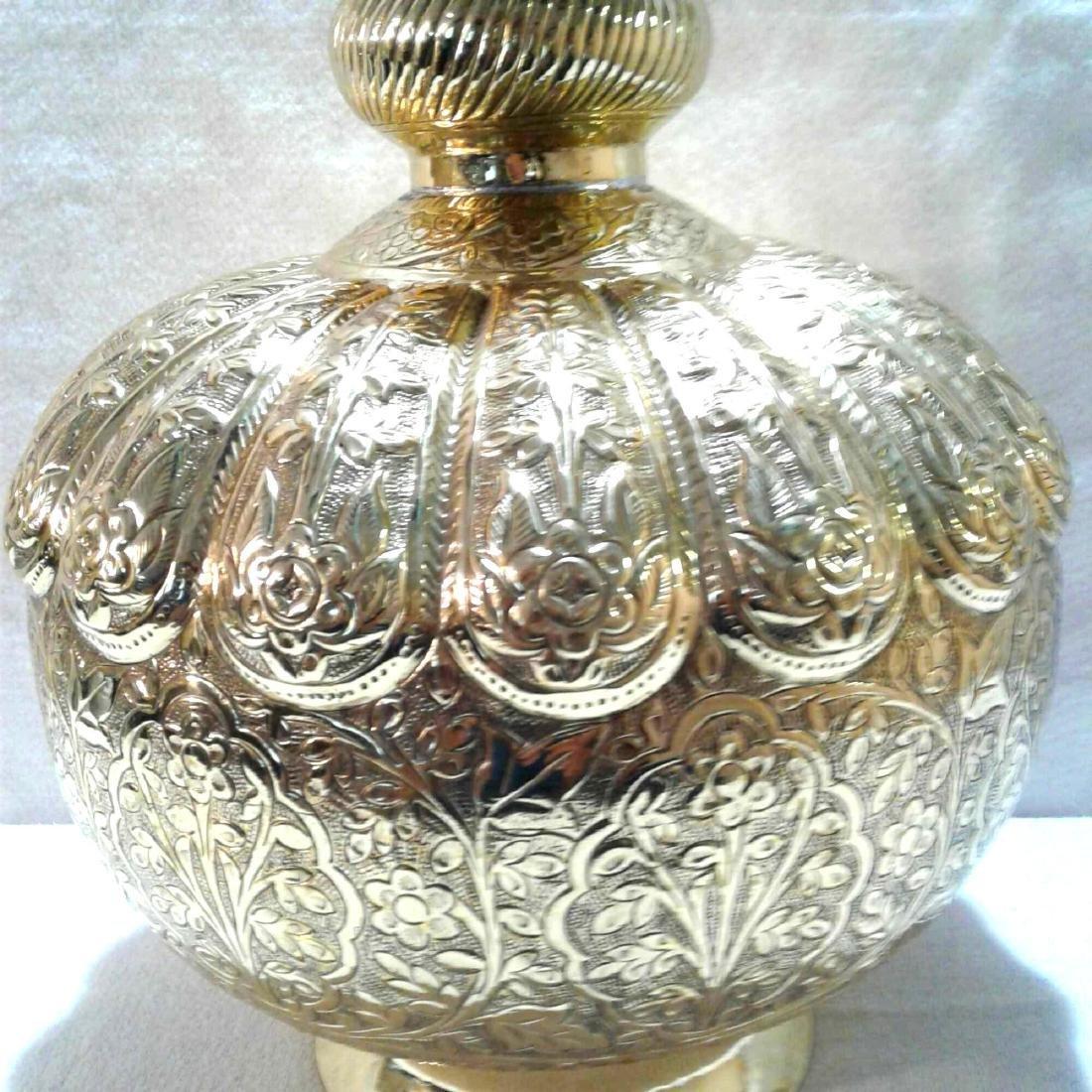 Vintage Large Brass Urn - 4