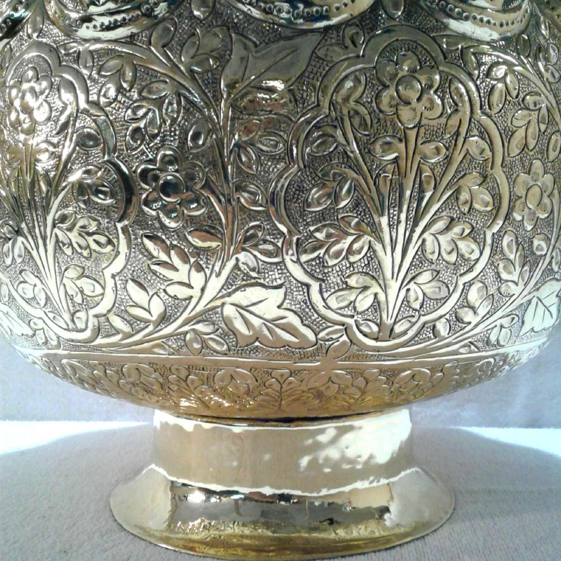 Vintage Large Brass Urn - 5