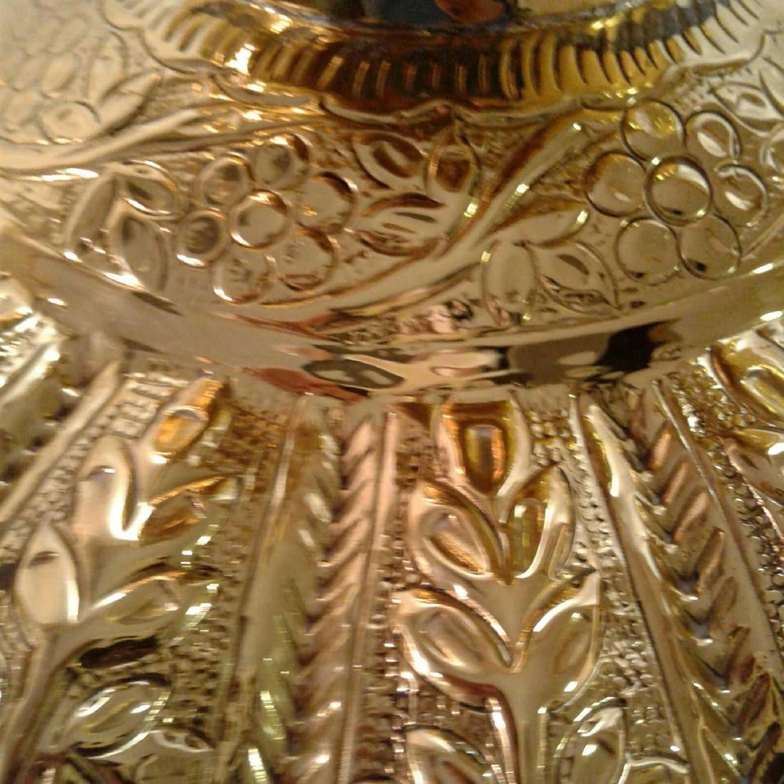 Vintage Large Brass Urn - 6